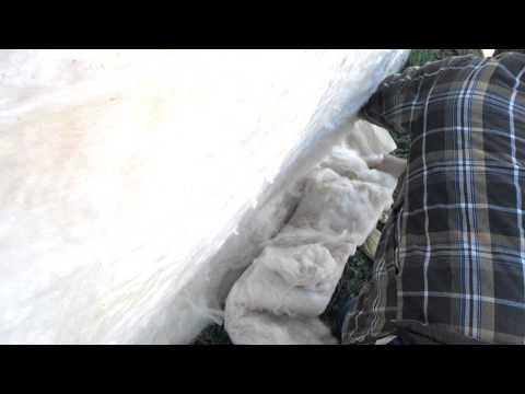 Metal building insulation prep