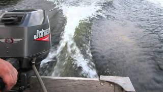 1999 Johnson 6 hp outboard motor