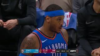 Carmelo Anthony Highlights 29 Points vs Cleveland Cavaliers 19 01 2018