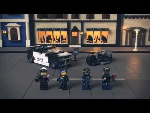 LEGO 70819 | The Lego Movie Bad Cop Car Chase | Lego 3D Review