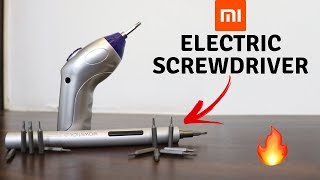 Budget Electric Screwdriver | Xiaomi WOWSTICK 1P+ | Tech Unboxing 🔥