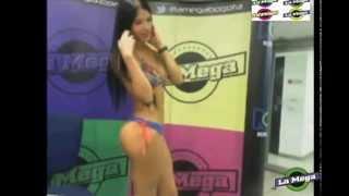 Paula Suarez en sesión de fotos en Cartel de La Mega