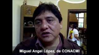Miguel Angel López de CONACMI Javira