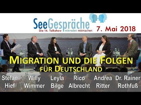 Seegespräche Migration und die Folgen für Deutschland - W. Wimmer,Leyla Bilge,R. Albrecht,R. Rothfuß