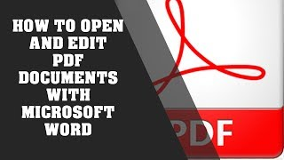 How To Open And Edit PDF Documents With Microsoft Word screenshot 5