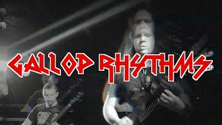 Metal Guitar Lesson: Gallop, Reverse/Inverted Gallop and Compound Gallop Rhythms