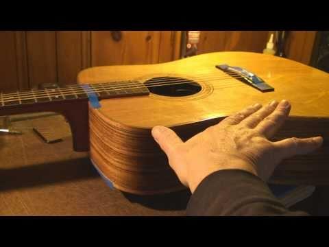 Acoustic Guitar Neck Reset Part 1