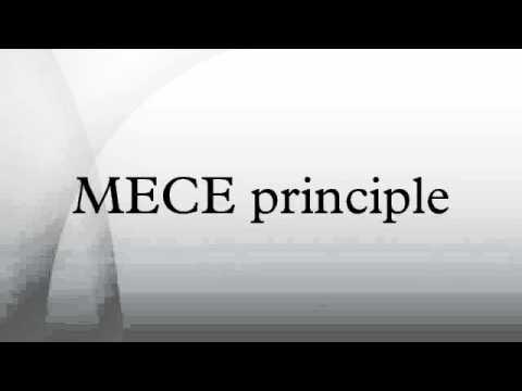 MECE principle
