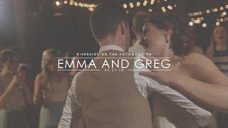WHOLE HEART STUDIOS WEDDING TRAILER | EMMA AND GREG | RIVERSIDE ON THE POTOMAC