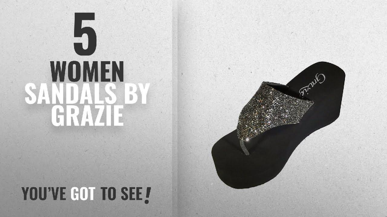 e0ed9cb23 Top 5 Grazie Women Sandals  2018   Grazie Women s Beckoning Platform Sandal  (8 M