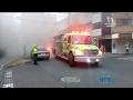 Las llamas, despertaron a los habitantes de una casa cerca al parque de Laureles