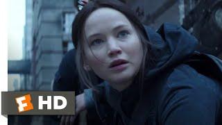 The Hunger Games: Mockingjay, Part 2 (2015) - The Black Ooze Scene (3/10)