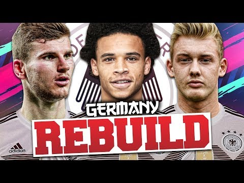 REBUILDING GERMANY!!! FIFA 19 Career Mode (WORLD CUP!)