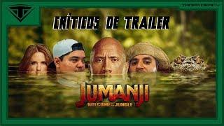 Críticos de Trailer: 03 - Jumanji: Bem-Vindo à Selva