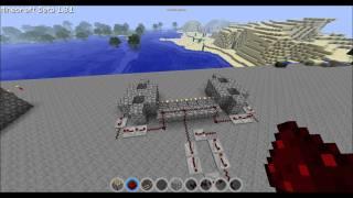 Minecraft - Miten Tehdään Itsestään Rakentuva Cobblestone Silta (Helppo)