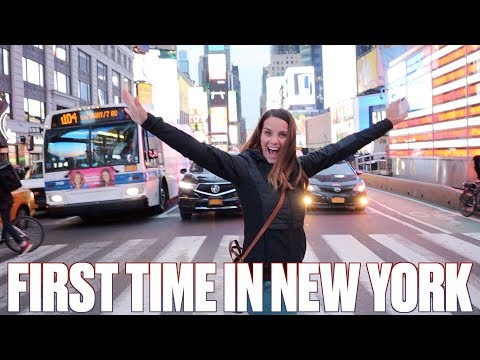 FIRST TIME IN NEW YORK CITY