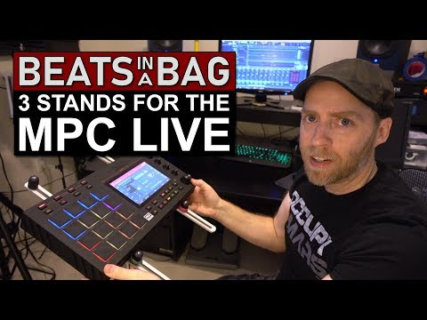 3 Stands for the MPC Live | Beats in a Bag