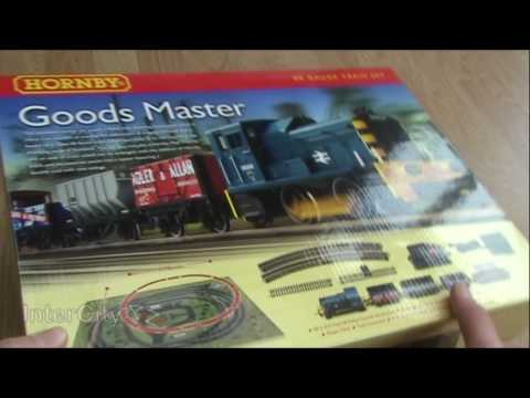 Opening the Hornby 'Goods Master' Train Set