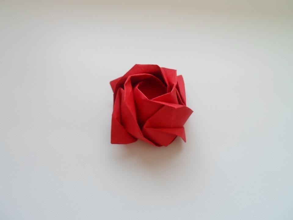 kawasaki rose | this rose was folded using kevin hines' prec… | Flickr | 720x960