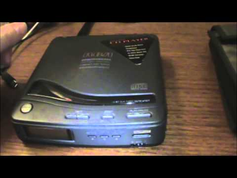 1992 RCA RP-7901A Personal CD Player
