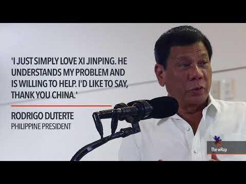 Duterte: 'I need China'