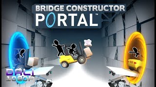 Bridge Constructor Portal PC Gameplay   Levels 06 to 12