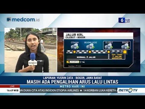 Jalur KRL Jakarta-Bogor di Sudah Bisa Dilalui