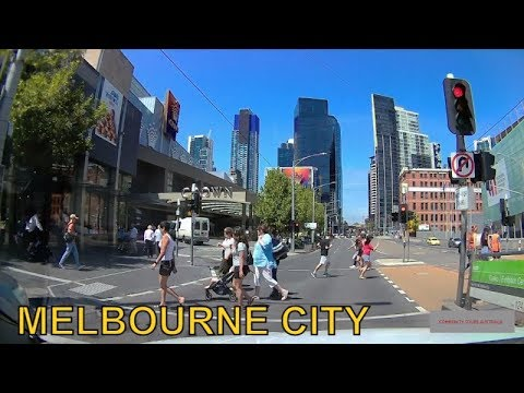 MELBOURNE CITY CENTER TOUR -  TRAVEL GUIDE AUSTRALIA 2019