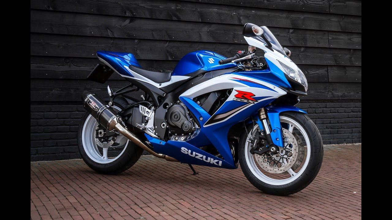 gsx r 600 k10 yoshimura r77 exhaust youtube. Black Bedroom Furniture Sets. Home Design Ideas