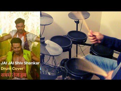 Jai Jai Shivshankar Drum Cover  War Hrithik Roshan, Tiger Shroff  Vishal & Shekhar, Vishal, Benny