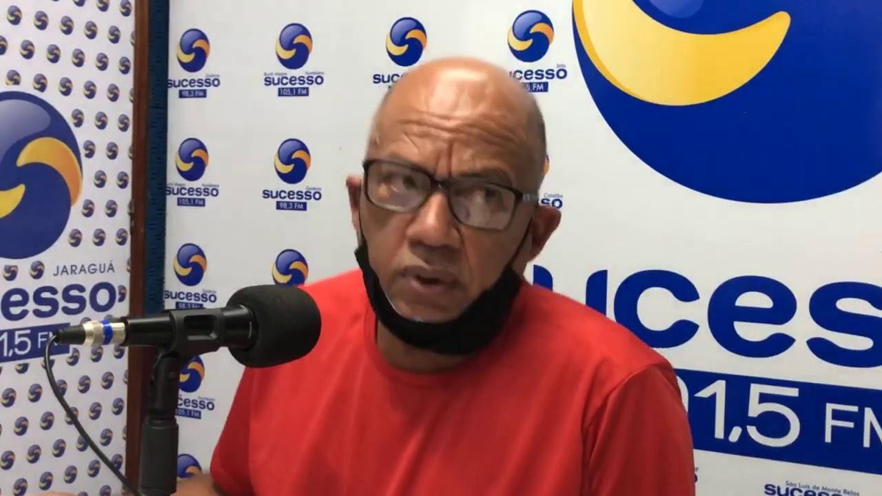 Dionísio Silva Presidente do SINTEGO fala sobre piso em Jaraguá, São Francisco e Jesúpolis