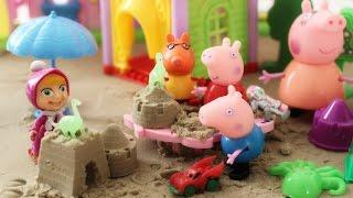 Джордж жаднюга. Мультик з іграшок про дружбу. Граємо разом. Свинка Пеппа.
