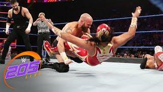 Tozawa vs. Metalik vs. Daivari vs. Kanellis - Fatal 4-Way Match: WWE 205 Live, April 16, 2019