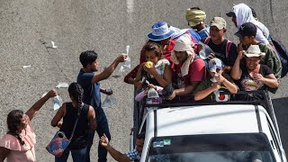 Trump threatens to cut Central American aid over migrant caravan