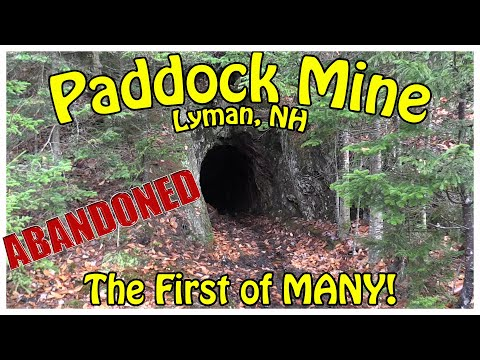 Abandoned Paddock Mine - Lyman, NH