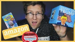Vienreizējā Apakšveļa? Jocīgi Produkti no Amazon mājaslapas! (Latviski) EP1