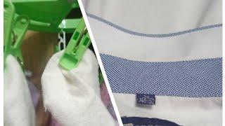 Как легко отстирать детские носочки и воротнички белых рубашек.