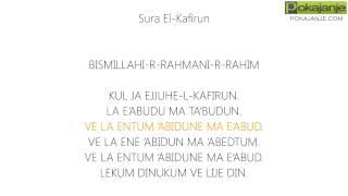 Nauči suru: El-Kafirun [Pokajanje.com]