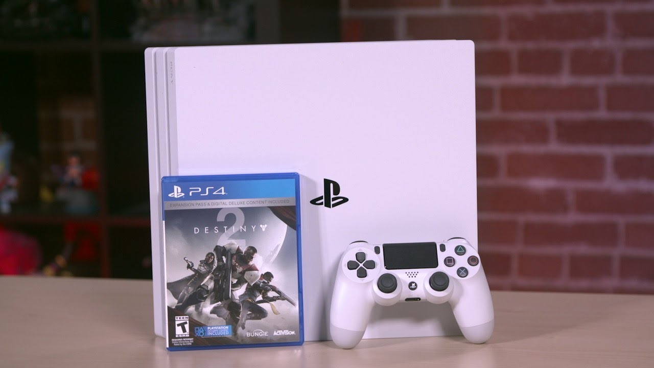 destiny 2 ps4 pro limited edition unboxing youtube. Black Bedroom Furniture Sets. Home Design Ideas