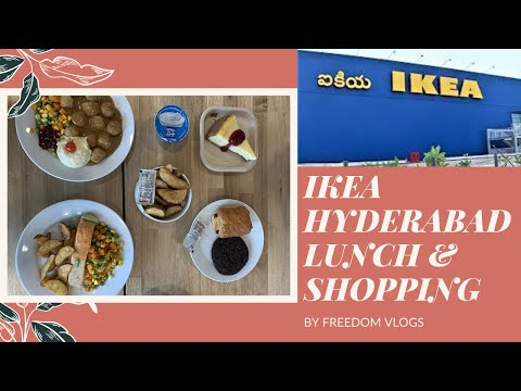 IKEA Hyderabad Lunch & Shopping | Best place for Lunch | Che