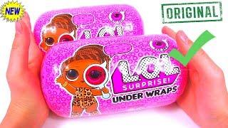 КАПСУЛА ЛОЛ ОРИГИНАЛ Wave 2  LOL SURPRISE UNDER WRAPS Eye Spy Dolls Распаковка Видео для Детей