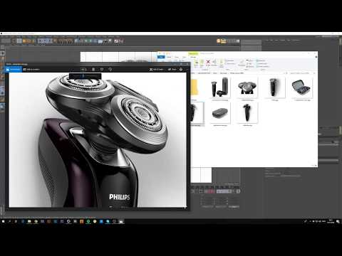 3D Modeling Philips Shaver 9000 Part 1/3