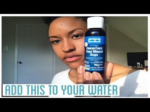 Using Trace Minerals: Alkaline & Remineralize Your Water