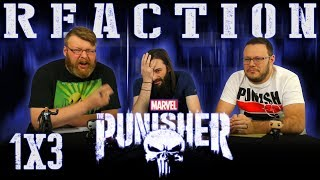 Marvel's The Punisher 1x3 REACTION!!