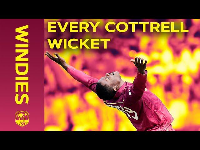 Every Sheldon Cottrell Wicket in the West Indies! | Windies 2020