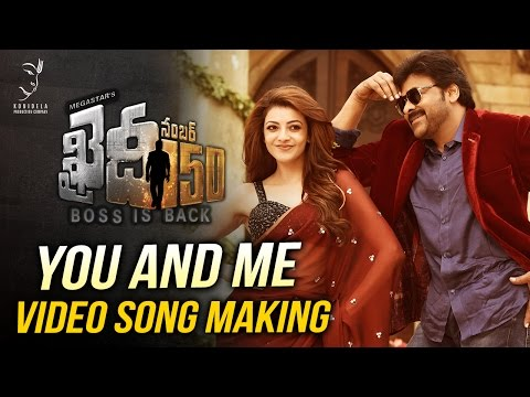 You And Me Video Song Making || Khaidi No...