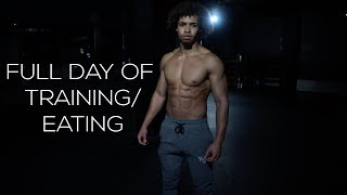A DAY IN THE LIFE OF A FITNESS YOUTUBER - FULL DAY OF EATING AND TRAINING