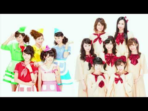 超HAPPY SONG Berryz工房×℃-ute 逆VerLR - YouTube