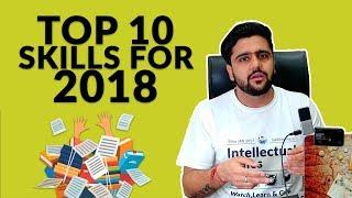 Top 10 Skills For 2018 | Hindi