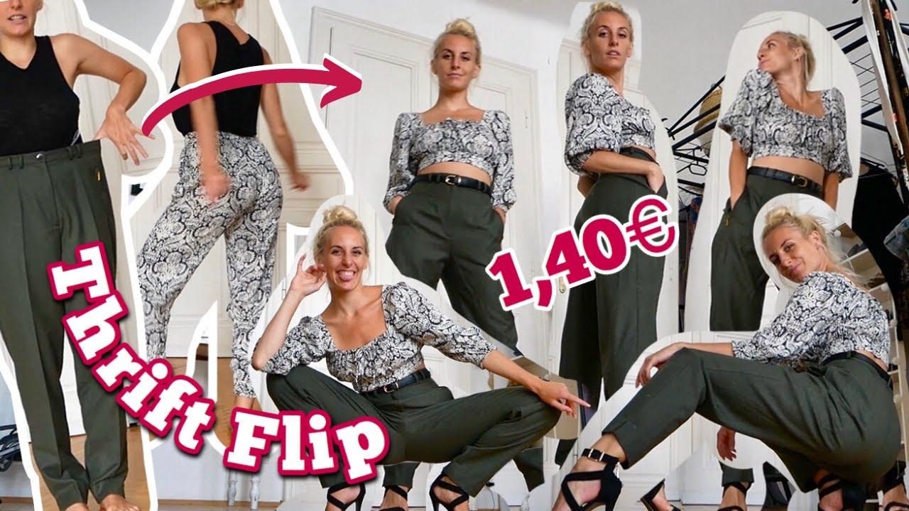 Thrift Flip - neues Outfit für nur 1,40€ nähen!